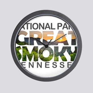 Great Smoky Mountains - Tennessee, Nort Wall Clock