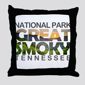 Great Smoky Mountains - Tennessee, No Throw Pillow