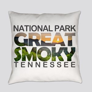 Great Smoky Mountains - Tennessee, Everyday Pillow