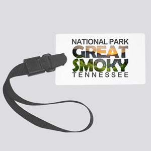 Great Smoky Mountains - Tennesse Large Luggage Tag