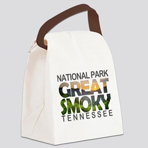 Great Smoky Mountains - Tennessee Canvas Lunch Bag