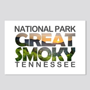 Great Smoky Mountains - T Postcards (Package of 8)