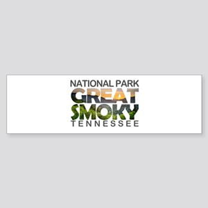 Great Smoky Mountains - Tennessee, Bumper Sticker
