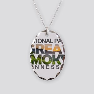 Great Smoky Mountains - Tennes Necklace Oval Charm