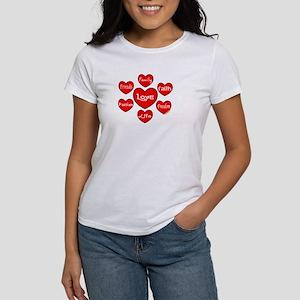 Hearts Orbit Women's T-Shirt