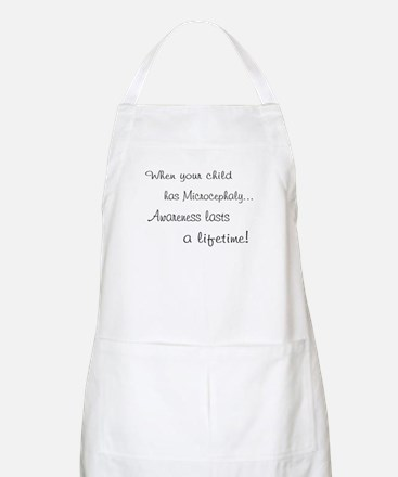 Microcephaly awareness lasts BBQ Apron