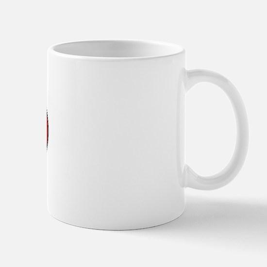 Canada Oval Colors Mug