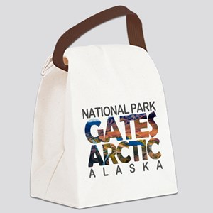 Gates of the Arctic - Alaska Canvas Lunch Bag