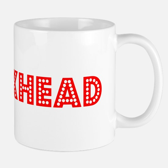 Retro Crackhead (Red) Mug