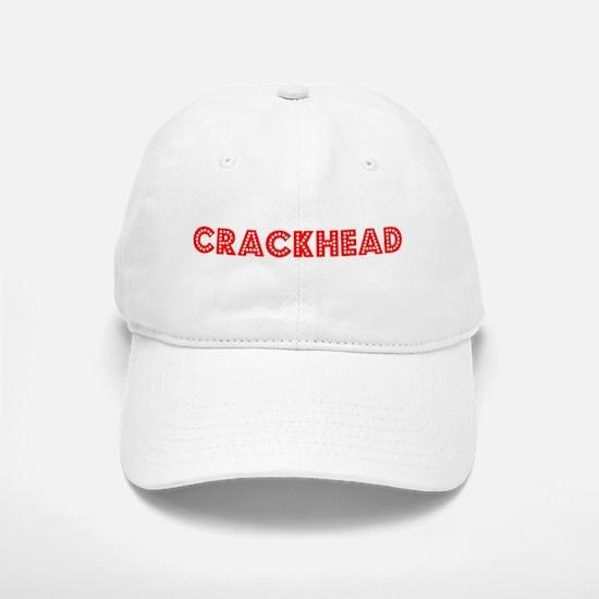 Retro Crackhead (Red) Baseball Baseball Cap