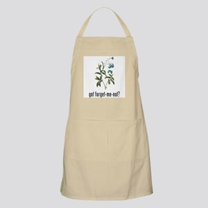 Forget Me Not BBQ Apron
