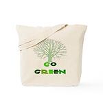 Go Green Oak Tree Reusable Tote Bag