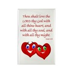 Hearts for God Rectangle Magnet (10 pack)
