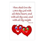Hearts for God Postcards (Package of 8)