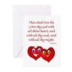 Hearts for God Greeting Cards (Pk of 10)