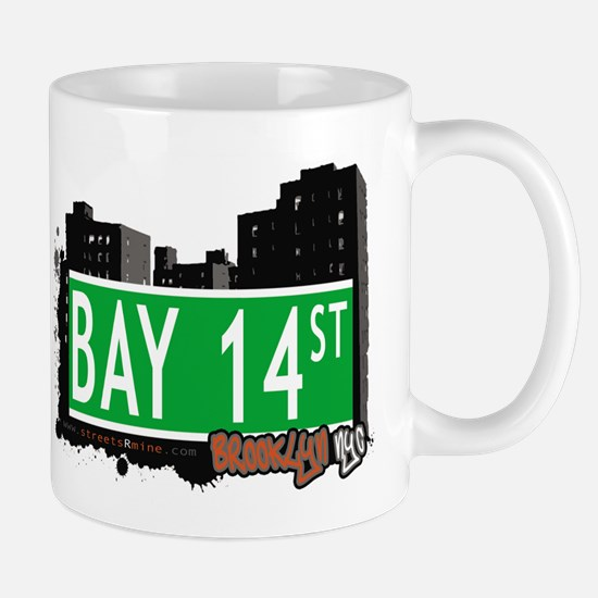 BAY 14 STREET, BROOKLYN, NYC Mug