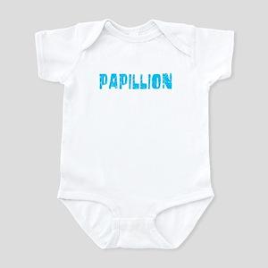 Papillion Faded (Blue) Infant Bodysuit