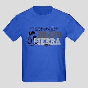 Bravo Sierra Avaition Humor Kids Dark T-Shirt