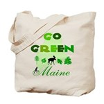 Go Green Maine Reusable Tote Bag