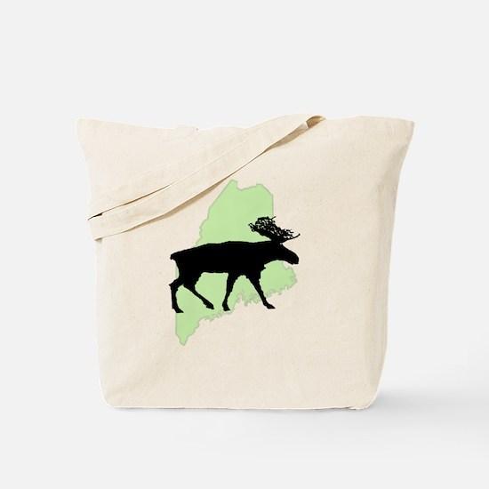 Maine Moose Reusable Tote Bag