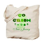 Go Green New Jersey Reusable Tote Bag