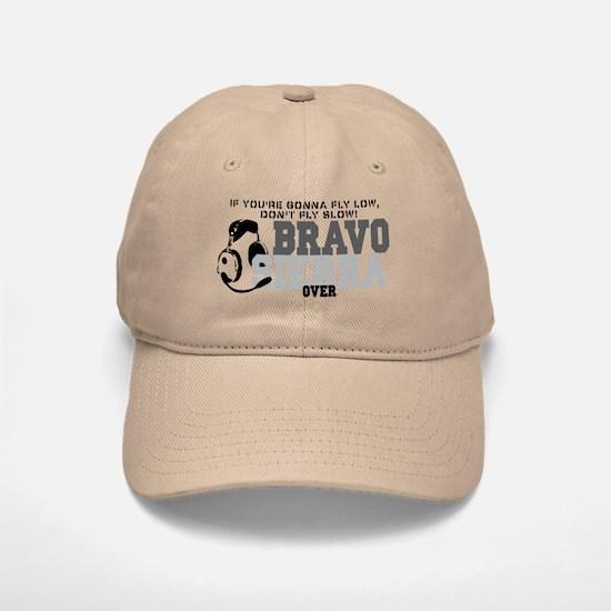 Bravo Sierra Avaition Humor Baseball Baseball Cap