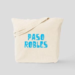 Paso Robles Faded (Blue) Tote Bag