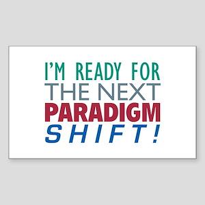 Paradigm Shift - Rectangle Sticker