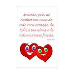 Hearts for God Mini Poster Print