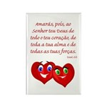 Hearts for God Rectangle Magnet (100 pack)