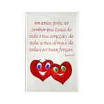 Hearts for God Rectangle Magnet