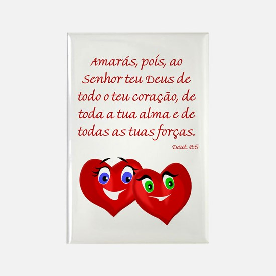 Hearts for God Rectangle Magnet