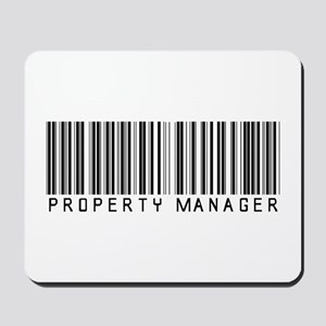 Property Manager Barcode Mousepad