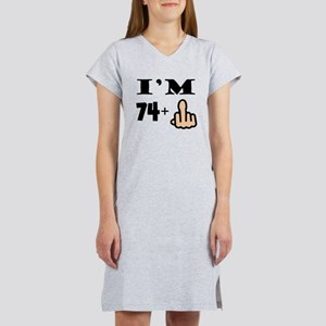 Middle Finger 75th Birthday T Shirt