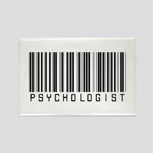 Psychologist Barcode Rectangle Magnet