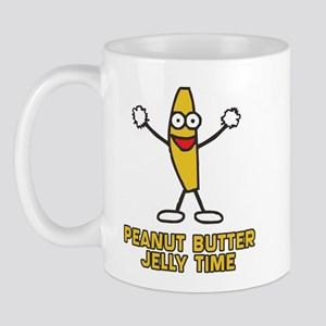 Peanut Butter Jelly Time Mug