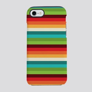 Umsted Design Retro Stripes iPhone 8/7 Tough Case