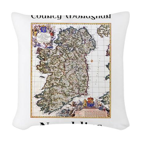 Newbliss Co Monaghan Ireland Woven Throw Pillow