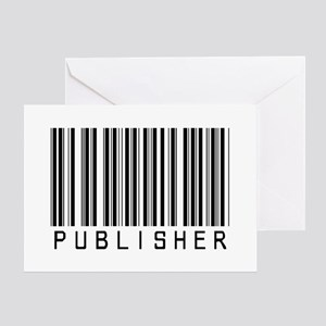 Publisher Barcode Greeting Card