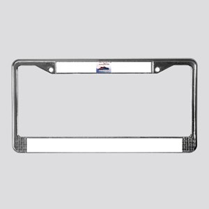 The Games of War 49 License Plate Frame