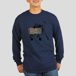 Elderly Fun Long Sleeve Dark T-Shirt