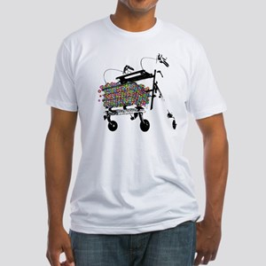 Elderly Fun Fitted T-Shirt