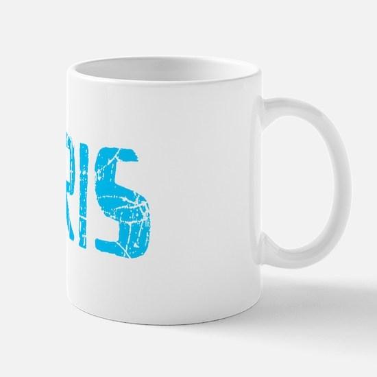 Perris Faded (Blue) Mug
