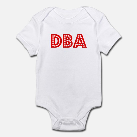 Retro DBA (Red) Infant Bodysuit