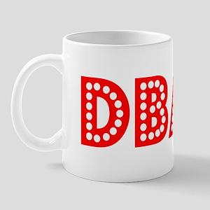 Retro DBA (Red) Mug