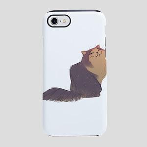 Fluffy Persian Cat iPhone 8/7 Tough Case