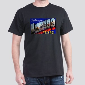 Laredo Texas Greetings Ash Grey T-Shirt