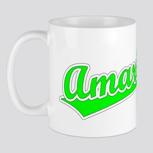 Retro Amarillo (Green) Mug