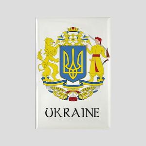 Ukraine Coat of Arms Rectangle Magnet