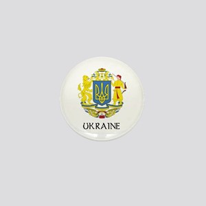 Ukraine Coat of Arms Mini Button